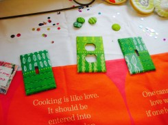The Spoonflower peel and stick paper projects- Living With Color Designs Blog