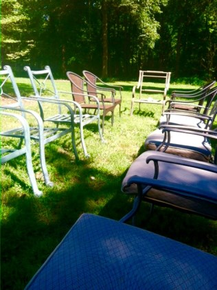 Random Outdoor Chairs For Dining- Living With Color Designs