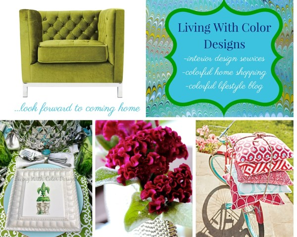 Living With Color Designs by Marianne Millikan- Photo Montage