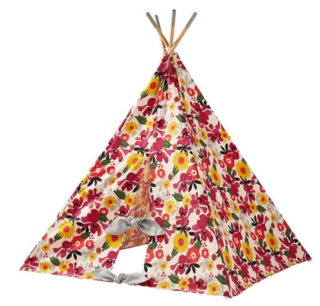 floral teepee: Teepees & Indoor Playhouses