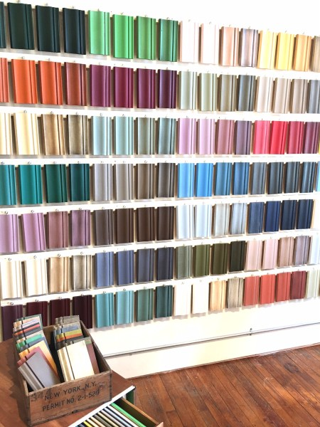 Birds Gotta Fly- Visual wall of Annie Sloan paint colors and finishes