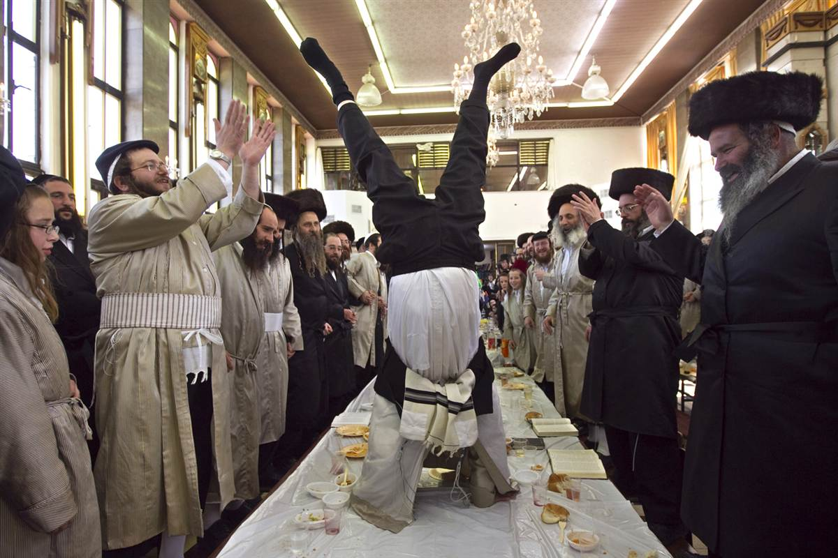 """Purim in """"At Bash"""" – Through the Looking Glass"""