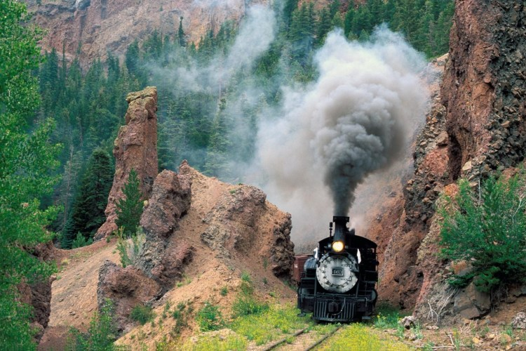 Nature Railroad Tracks Smoke Steam 910751 1920×1200