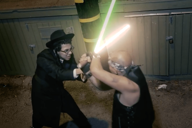"""Star Wars"" Shavuout Funny One Minute Movie"