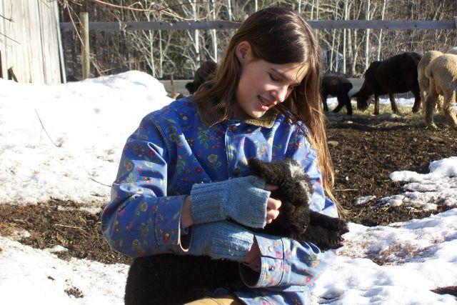 Anna and Lamb
