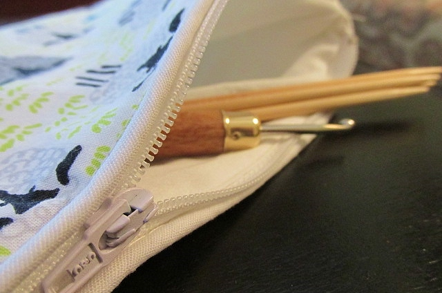Knitting Accessory Pouch
