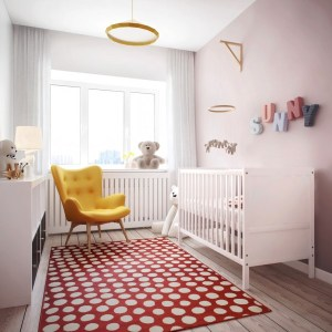 "The hidden master ""bed"" room allowed for the creation of a separate nursery, with room to space for a growing child."