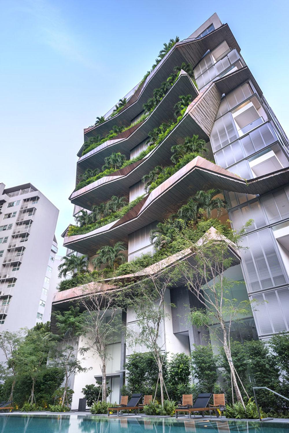 oliv in singapore architecture