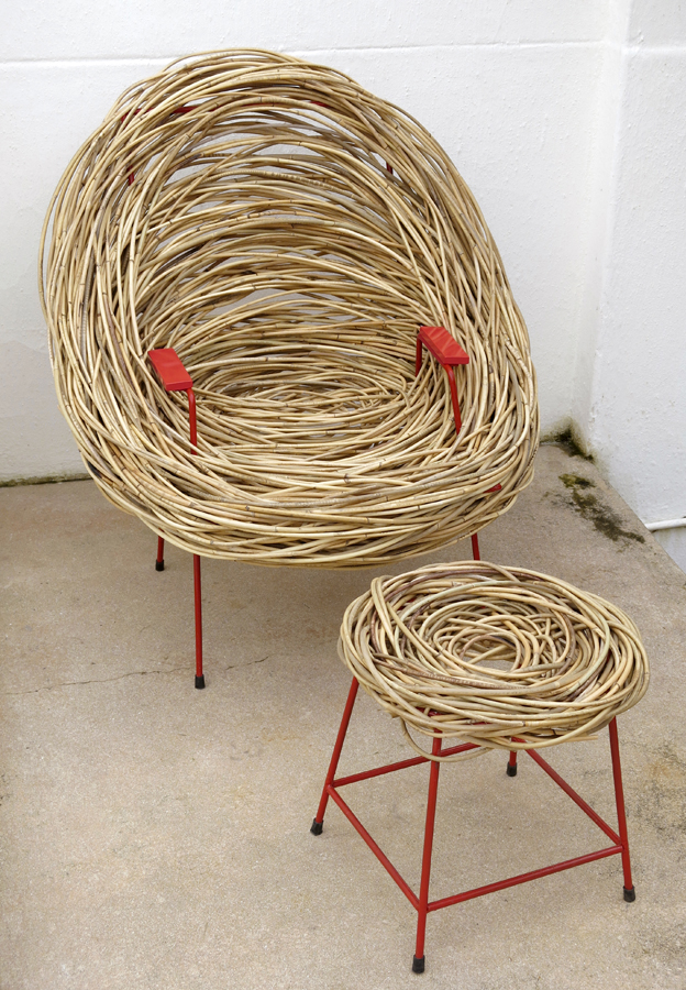 The Nest Chair Is Part Of A Larger Collection Of U201cnestsu201d Created By  Mr.Hefer Which Feature Some Surprisingly Creative And Quirky Pieces Based  On The Same Or ...