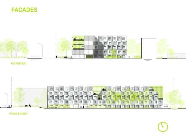 student housing _172A Design France