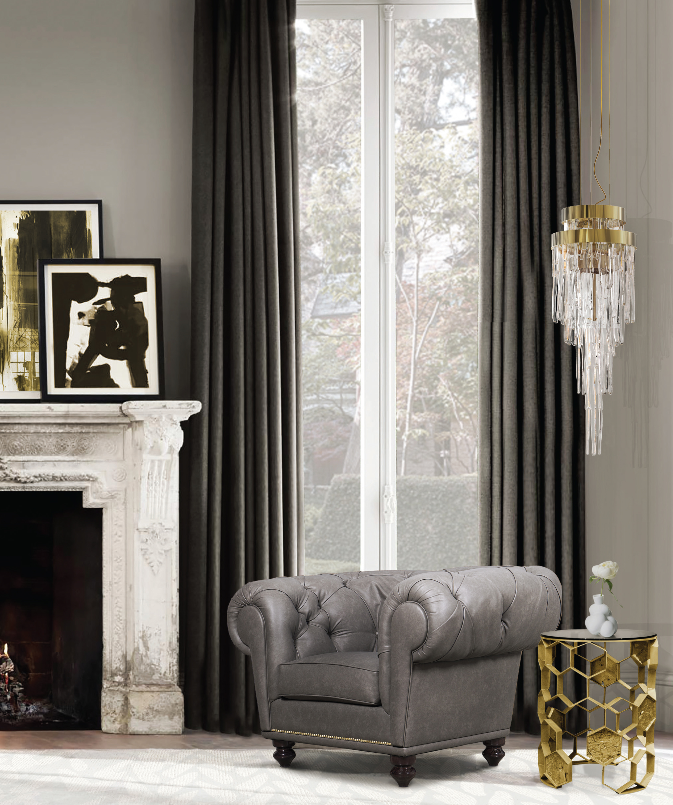modern classic living room. undefined DESIGN INSPIRATION FOR THE LUXURIOUS MODERN CLASSIC LIVING ROOM