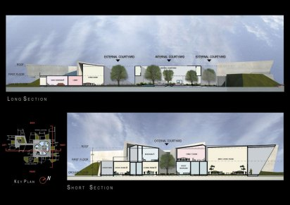 courtyard house_01_plans