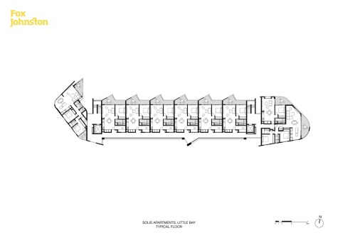 Solis Apartments_02_Typical Floor_Fox Johnston