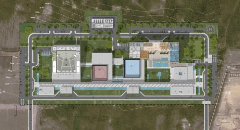 Congo Kintele Congress Center_24_AVCI Architects_floor plans