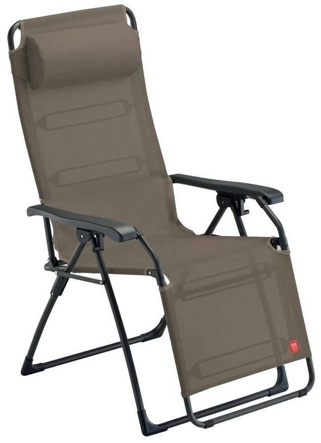 mira b en acier peint et couleur au choix en fauteuil relax inclinable texfil transat exterieur pliant a la maison ou au contrat
