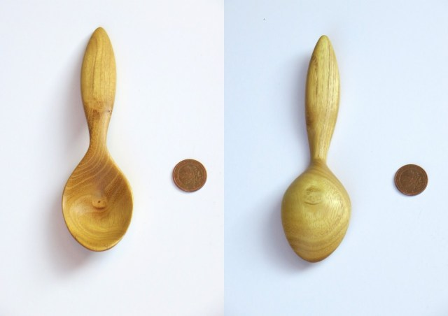 Black locust spoon