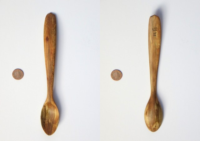 Another spalted alder spoon from the German Eifel. I quite a bit of woodworking there. I'll post something about my time there soon.
