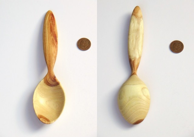Honey locust spoon