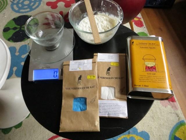 Making milk paint - ingredients