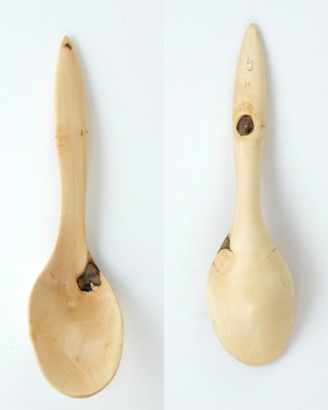 Field maple ladle