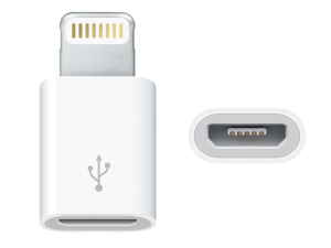 「Lightning – Micro USBアダプタ」が日本でも販売開始!速攻で買った!