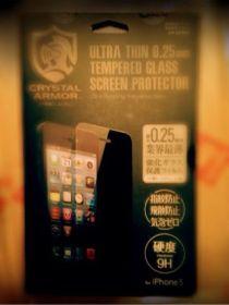 Retinaディスプレイの良さを再確認!話題の超薄膜0.25mm強化ガラス液晶保護フィルム【クリスタルアーマーTM】をiPhone 5に装着してみた!