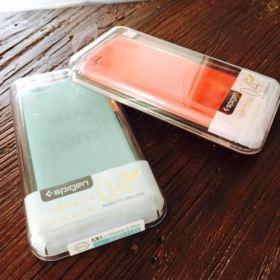 iPhone 6 Plus ケース Spigen [薄さ0.4mm] エアースキンを購入してみた