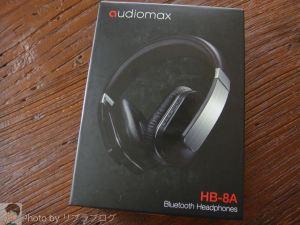 【レビュー】audiomax Bluetoothヘッドホン HB-8Aを使ってみた