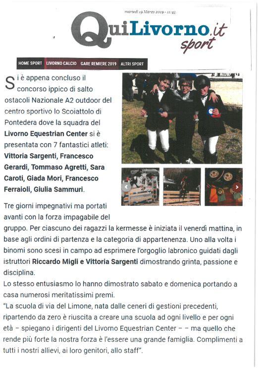 Qui Livorno 18/03/2019