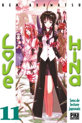 Couverture Love Hina, tome 11