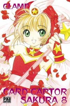 Couverture Card Captor Sakura, tome 08