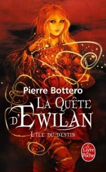 Couverture La Quête d'Ewilan, tome 3 : L'Île du Destin