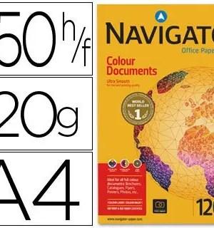 Papel Navigator A4 120 gramas Colour documents – 250 folhas