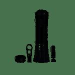 Conjunto de Saca-rolhas elétrico com acessórios OnTable