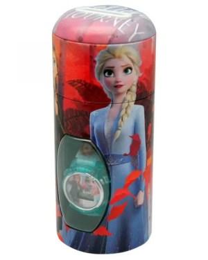 Relógio Frozen 2 com caixa mealheiro FROZEN