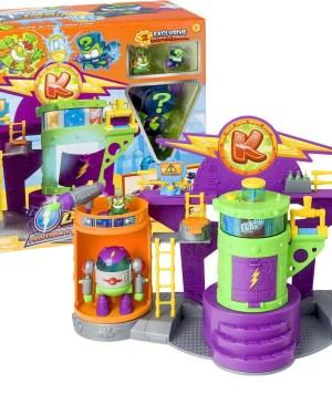 Superzings – Batalha Laboratório Kazoom