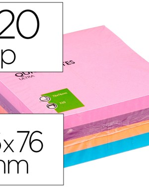 Bloco de notas adesivas 75×75