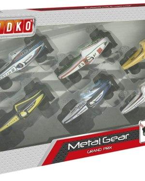 Set carros Grand Prix em metal SPIDKO