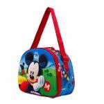 Lancheira Mickey Let's Go 3D
