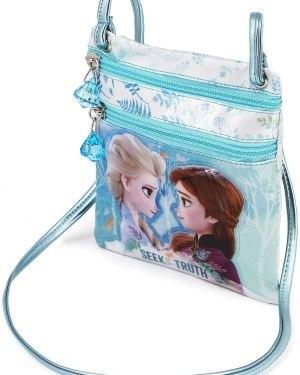 Bolsa Frozen 2 vertical Elsa e Anna