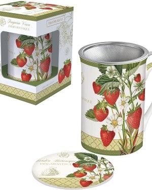 Chávena infusão jardim botanico amoras