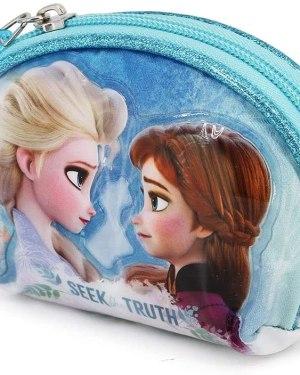 Moedeiro Frozen 2 oval Elsa e Anna