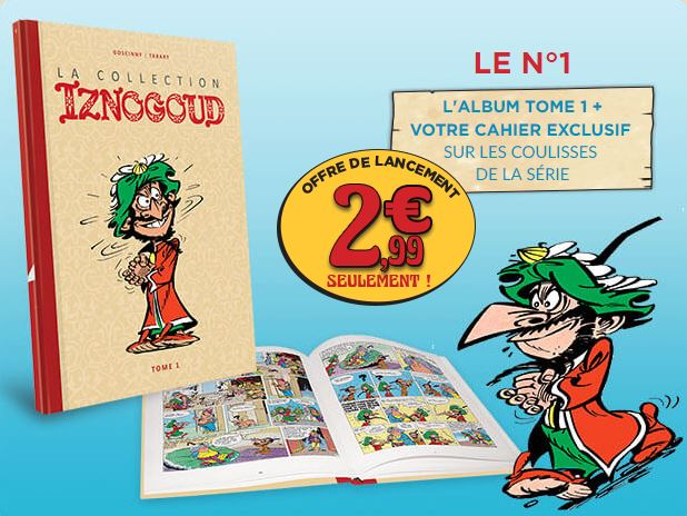 La collection Iznogoud