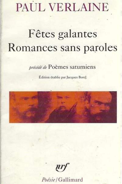 Fêtes galantes, Romances sans paroles