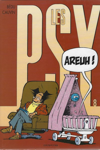 Les Psy, tome 8: Areuh!