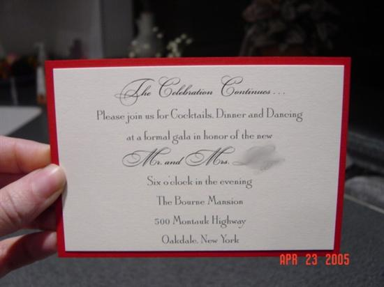 Wording After Wedding Party Invitations Uk