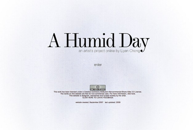 A Humid Day website. www.ahumidday.info