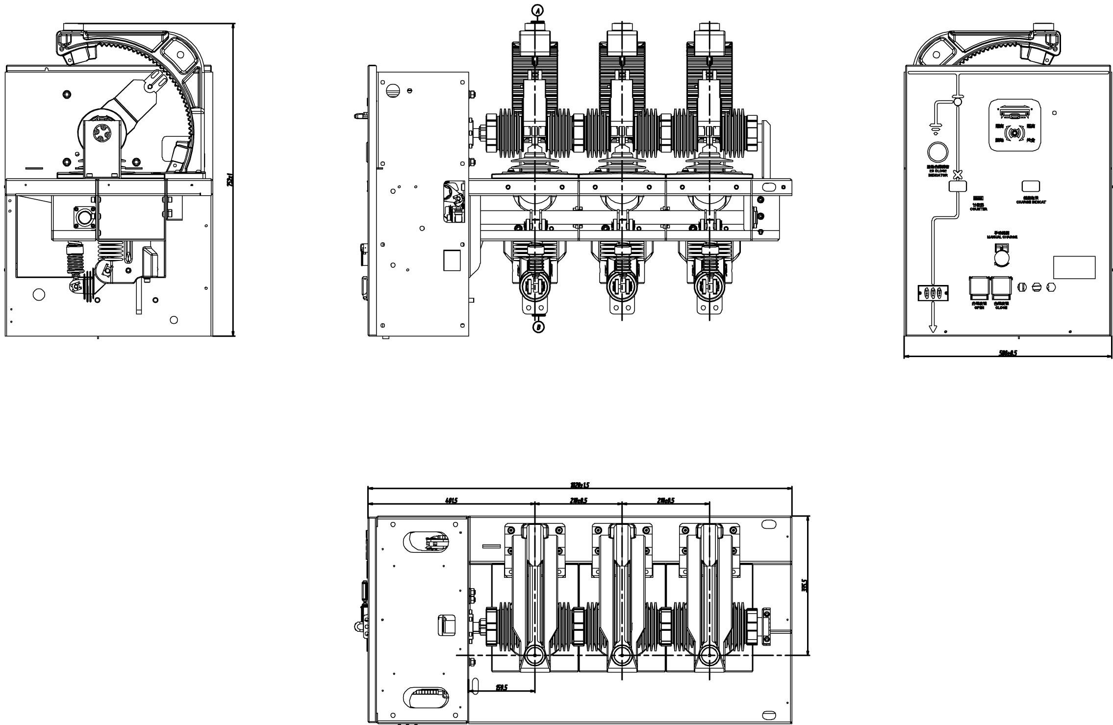 Vgk Ii 12 Series Indoor High Voltage Ac Vacuum Circuit