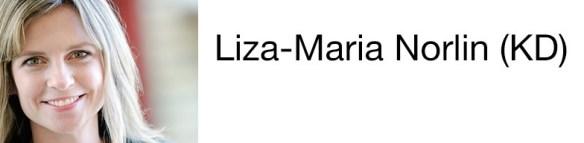 Liza-Maria Norlin (KD) gruppledare