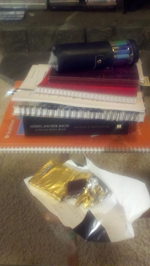 The detritus of writing